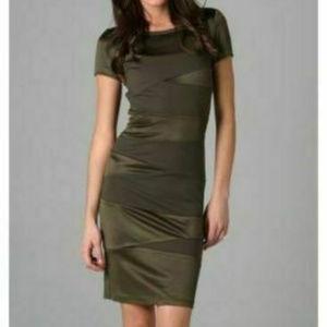 Diane von Furstenberg XS 0 Trapp dress Green